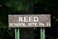 Image for Reed School Site No 33