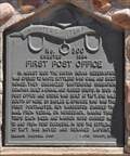 Image for First Post Office ~ 300