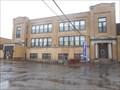 Image for Boys and Girls Entrances - Former Wurlitzer Public School - North Tonawanda, NY