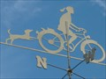 Image for Girl on Bicycle, Weathervane, Hwy192 East, Kissimmee, Florida.