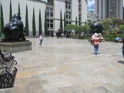 Botero Plaza, with Botero Sculptures, Medellin, Colombia