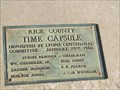 Image for Lyons Centennial Time Capsule - Lyons, Kansas