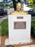 Image for Bust of Dr. Martin Luther King Jr., Greensboro, NC
