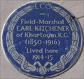 Image for Field-Marshal Earl Kitchener - Carlton Gardens, London, UK