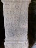 Image for Roman Altar Stone - Caerwent Parish Church - Wales.