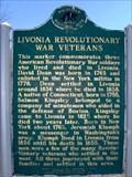 Image for Livonia Revolutionary War Veterans