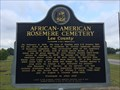 Image for African-American Rosemere Cemetery - Opelika, AL