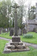 Image for Churchyard Cross, St.Giles' churchyard, Great Longstone, Derbyshire.