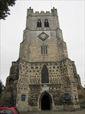 Image for Church of Holy Cross and St. Lawrence Clock - Waltham Abbey, Essex, UK