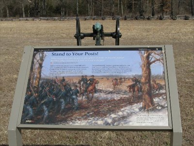 STAND YOUR GROUND AT PEA RIDGE