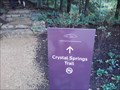 Image for Crystal Spring Trail - Crystal Bridges Museum - Bentonville AR