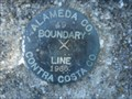 Image for Alameda County 49 Boundary Line 1966 Contra Costa County