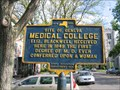 Image for First M.D. degree for a woman in United States
