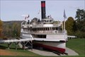 Image for SS Ticonderoga, historic paddlewheeler - Shelburne, VT