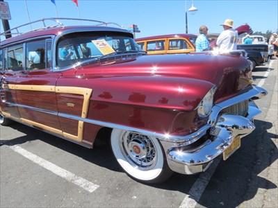 Red Cadillac Front, Santa Cruz, CA