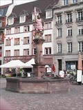 Image for La fontaine de la Place de la Réunion (Mulhouse)(Alsace)