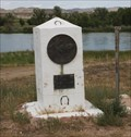 Image for Two PX Monuments at Register Cliff -- nr Guernsey WY