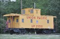 Image for Union Pacific Standard Caboose 25501