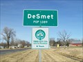 Image for DeSmet, South Dakota - Population 1089