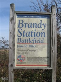Start of the Gettysburg Campaign - another site saved by the CWPT.