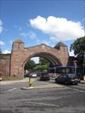 Image for City Walls Bridge, Pepper Street, Chester, Cheshire, England, UK