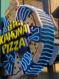 Image for Big Kahuna Pizza - Artistic Neon - Orlando, Florida, USA.