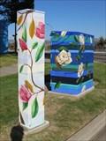 Image for Flowers on Stripes - San Jose, California