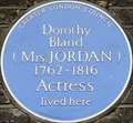 Image for Dorothy Bland (Mrs Jordan) - Cadogan Place, London, UK