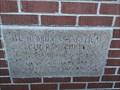 Image for 1974 - Mt. Hebron Evangelical Lutheran Church cornerstone - Leesville SC