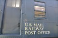 Image for US Mail Railway Post Office Car ~ Escondido, California