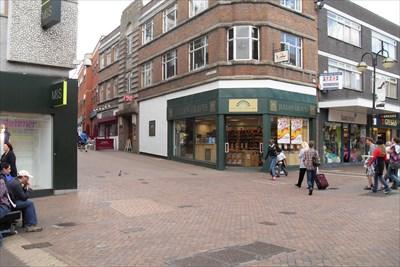 In Abington Street.