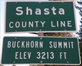 Image for Calif. Hwy. 299 - Buckhorn Summit - Elevation 3213