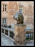 Image for Guardian Bears in front of a Castle - Nové Mesto nad Metují, Czech Republic