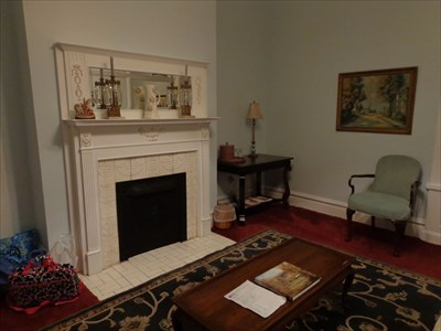 Front room of the James C. Tappan, where we stayed.