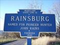 Image for Blue Plaque: Rainsburg