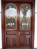 Image for Mosque Masjid Al Ehsan Doors - Chau Doc, Vietnam