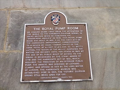 Royal Pump Room Museum - Visitor Attraction.
