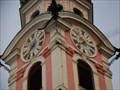 Image for Uhr Spitalskirche Innsbruck, Tirol, Austria [