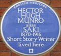 Image for Hector Hugo Munro - Mortimer Street, London, UK