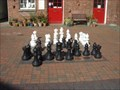 Image for Giant Chess, Ferrers craft centre, Staunton Harold, Leicestershire, England, U.K.