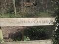 Image for Green Walk Plantation Sign, Royston, Hertsfordshire
