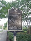 Image for First Presbyterian Church and Church Leaders Historical Marker