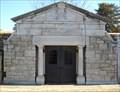 Image for Crane Mausoleum - Topeka Cemetery - Mausoleum Row - Topeka, Ks.