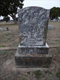 Image for Thomas B. Lester - Blum Cemetery - Blum, TX