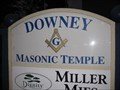 Image for Downey Masonic Temple - Downey, CA