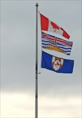Image for Municipal Flag of the City of Rossland - British Columbia