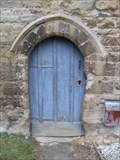 Image for All Saints Church Doorway - Turvey, Bedfordshire, UK.