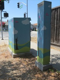 Street View of the Pair, Featuring Tall Box, San Jose, CA