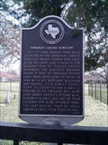 Image for Abraham Carver Cemetery - Mesquite, Texas (Dallas County)
