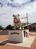 Image for Bulldog Statue in Dog Park, Winslow, AZ